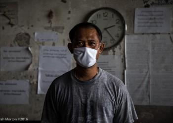 Portrait of a Sawmill Worker, 2:23 pm