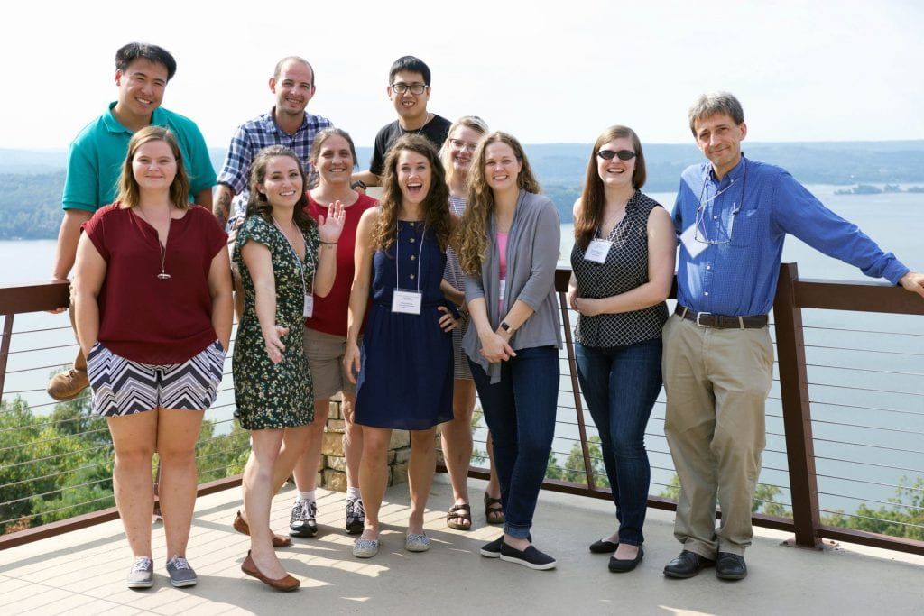 Picture of Yoder Lab at the CDIB retreat Fall 2019