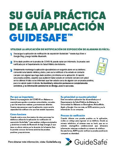 su guía práctica de la aplicación guidesafe
