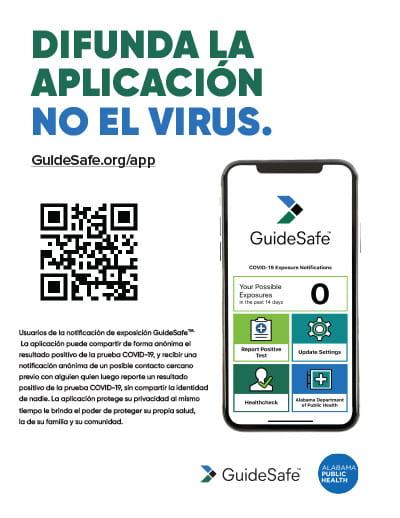 difunda la aplicación no el virus