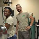 Ashley Smith with Postdoc Mentor Dr. Paul Baker