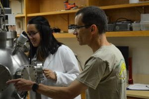 Sabrina Siu with Faculty Mentor Dr. Renato Camato