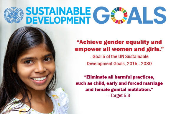 UN banner promoting the Sustainable Development Goals. Source: http://www.un.org/sustainabledevelopment/gender-equality/