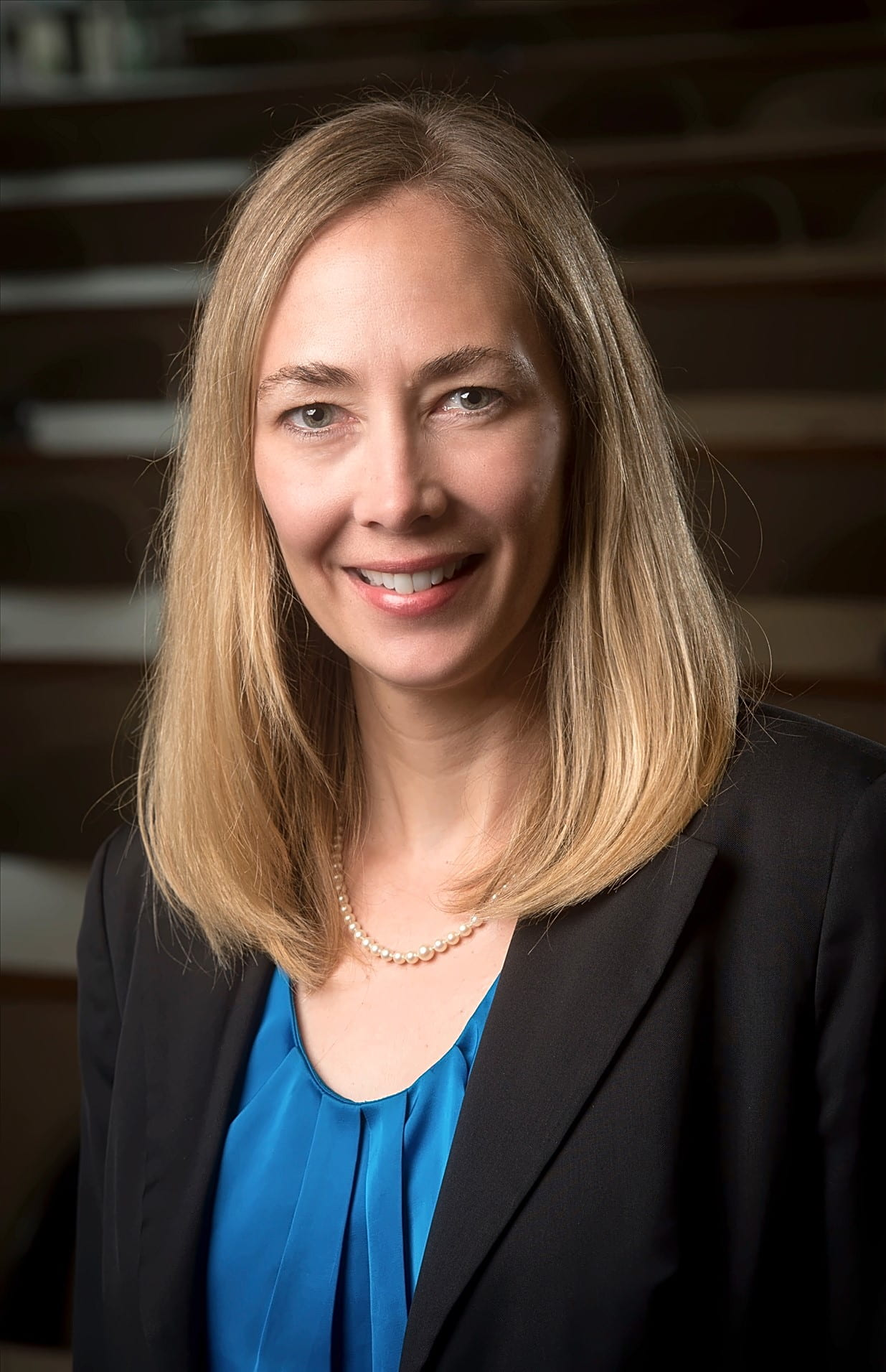 Head shot of Dr. Tina Kempin Reuter, PhD (Director, Institute for Human Rights), 2016.