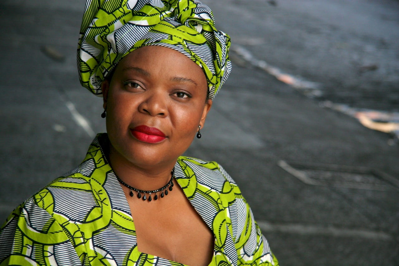 Leymah Gbowee (photo credit: Michael Angelo)