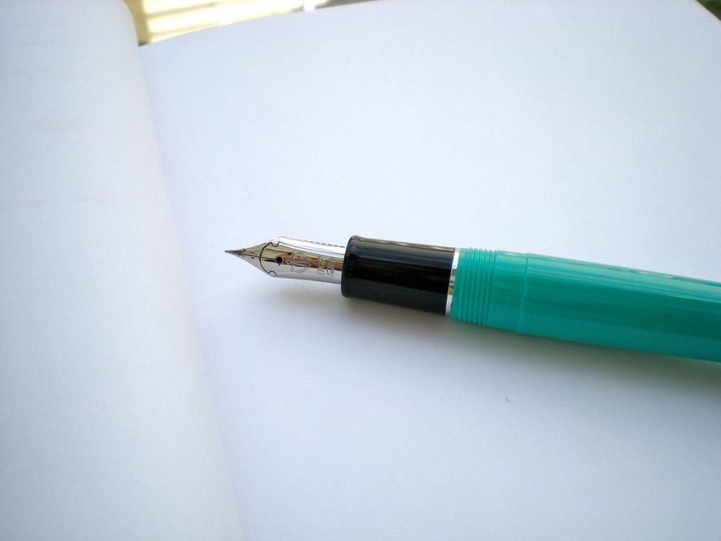 picture of a pen on paper