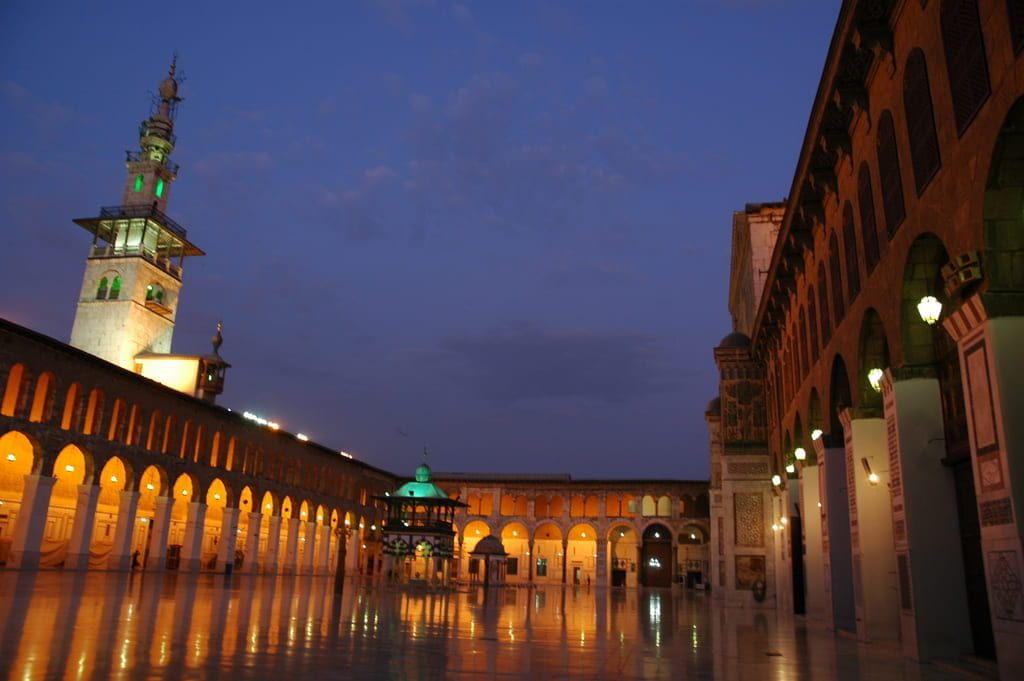 a picture of Umayyad Mosque Courtyard, Damascus
