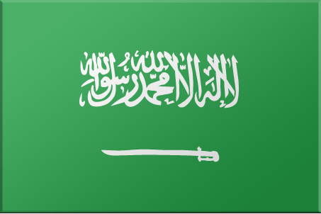 a picture of the Saudi Arabia flag