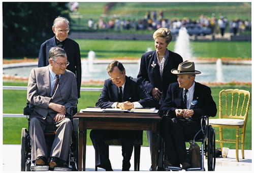 July 26 1990 ADA Signing Ceremony