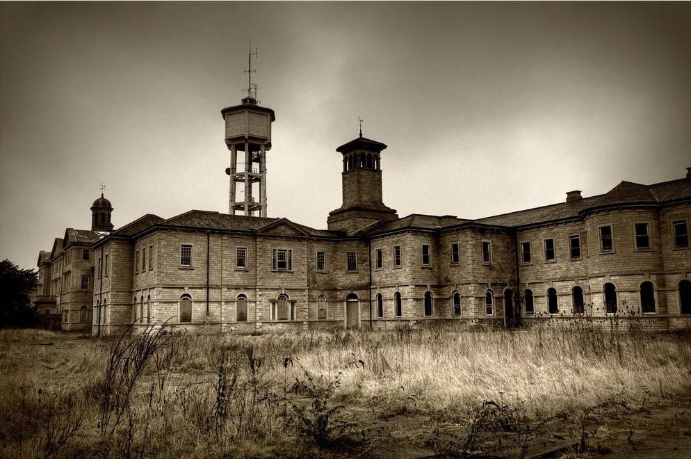 a photo of a prison