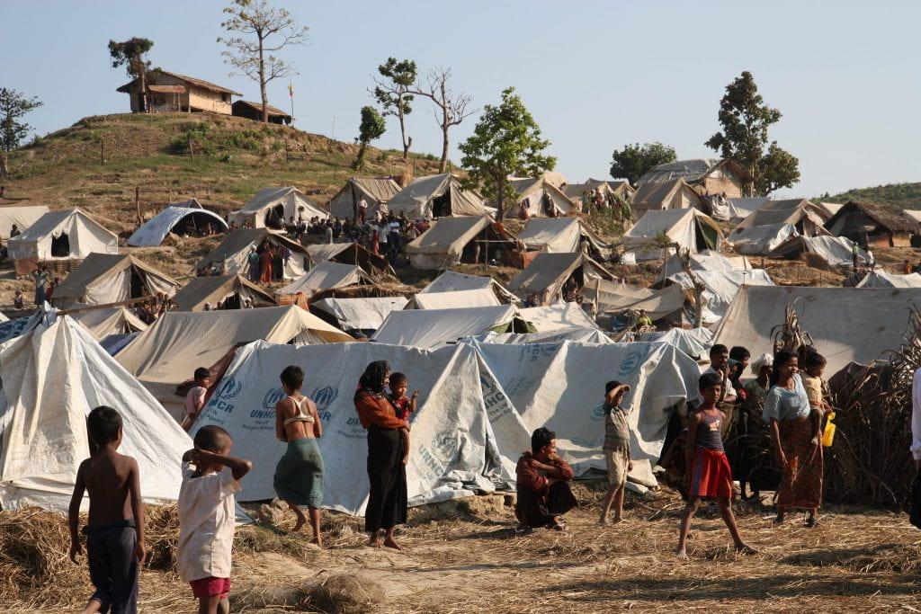 Taung Paw Camp in Rakhine State – Burma.