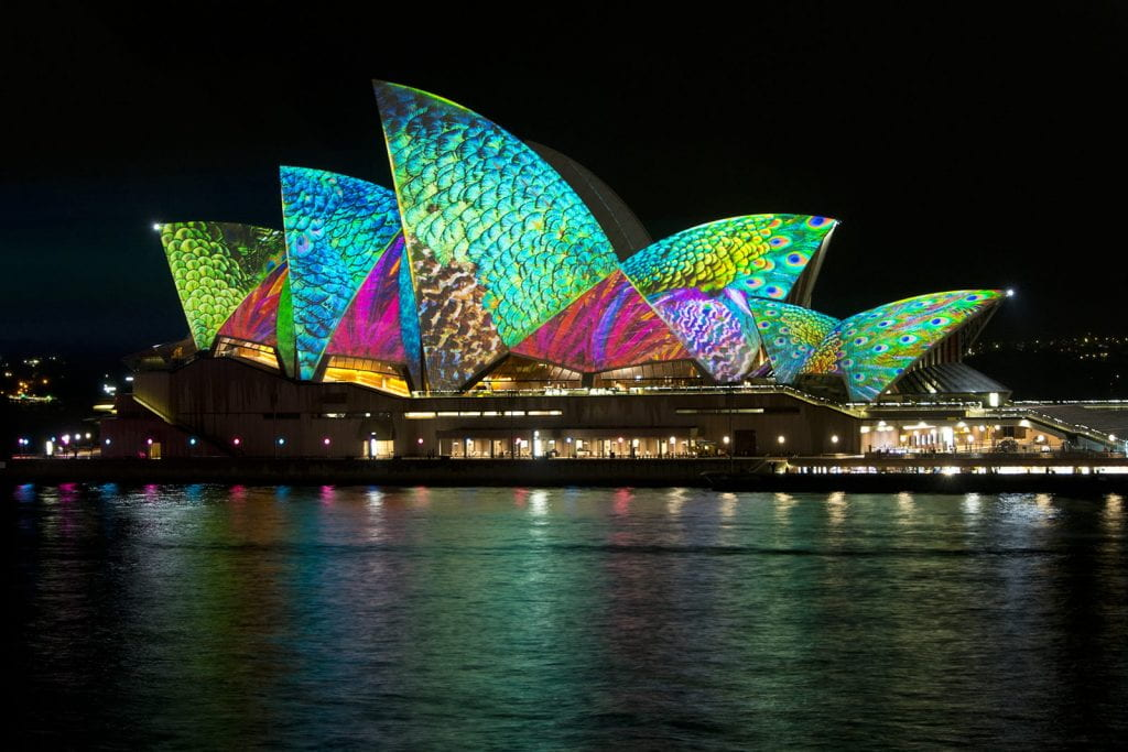 a picture of the Sydney Opera House. It is a UNESCO site