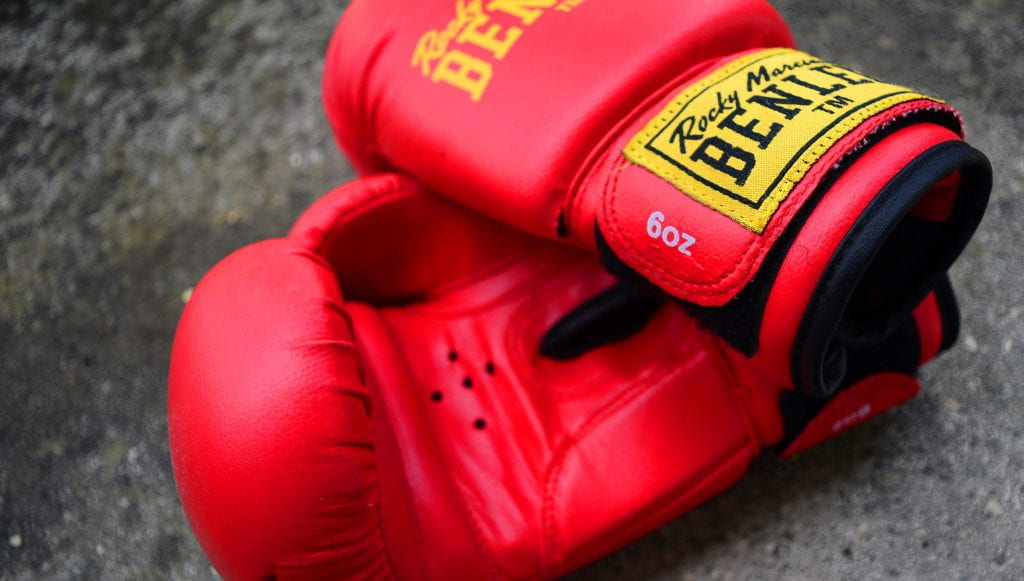 a picture of boxing gloves