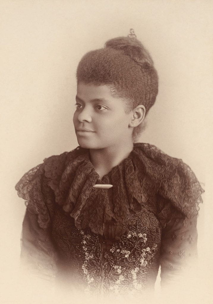 a picture of civil rights leader Ida B. Wells