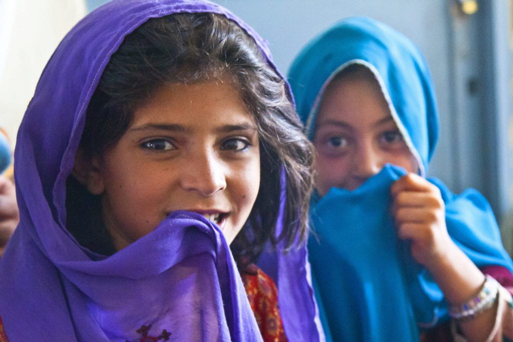 Afghani girls