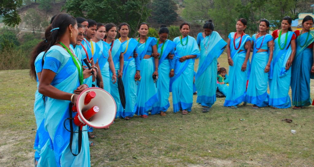 Nyaya Health: A chant and a dance on the practice of Chhaupadi by the CHWLs and FCHVs