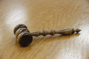 Picture of a judge's gavel