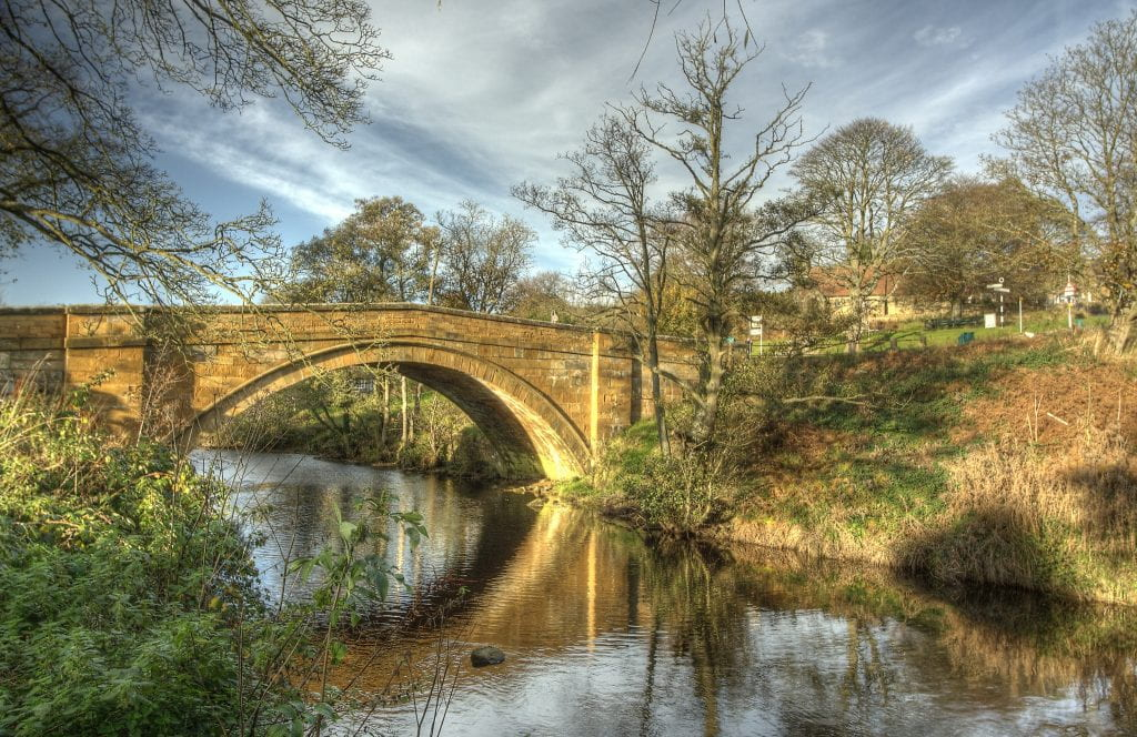 Lealholm Bridge. Source: Red Rose Exile, Creative Commons.