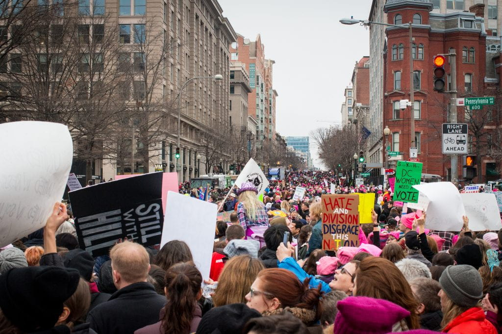 picture of Washington, DC Women's March 2017