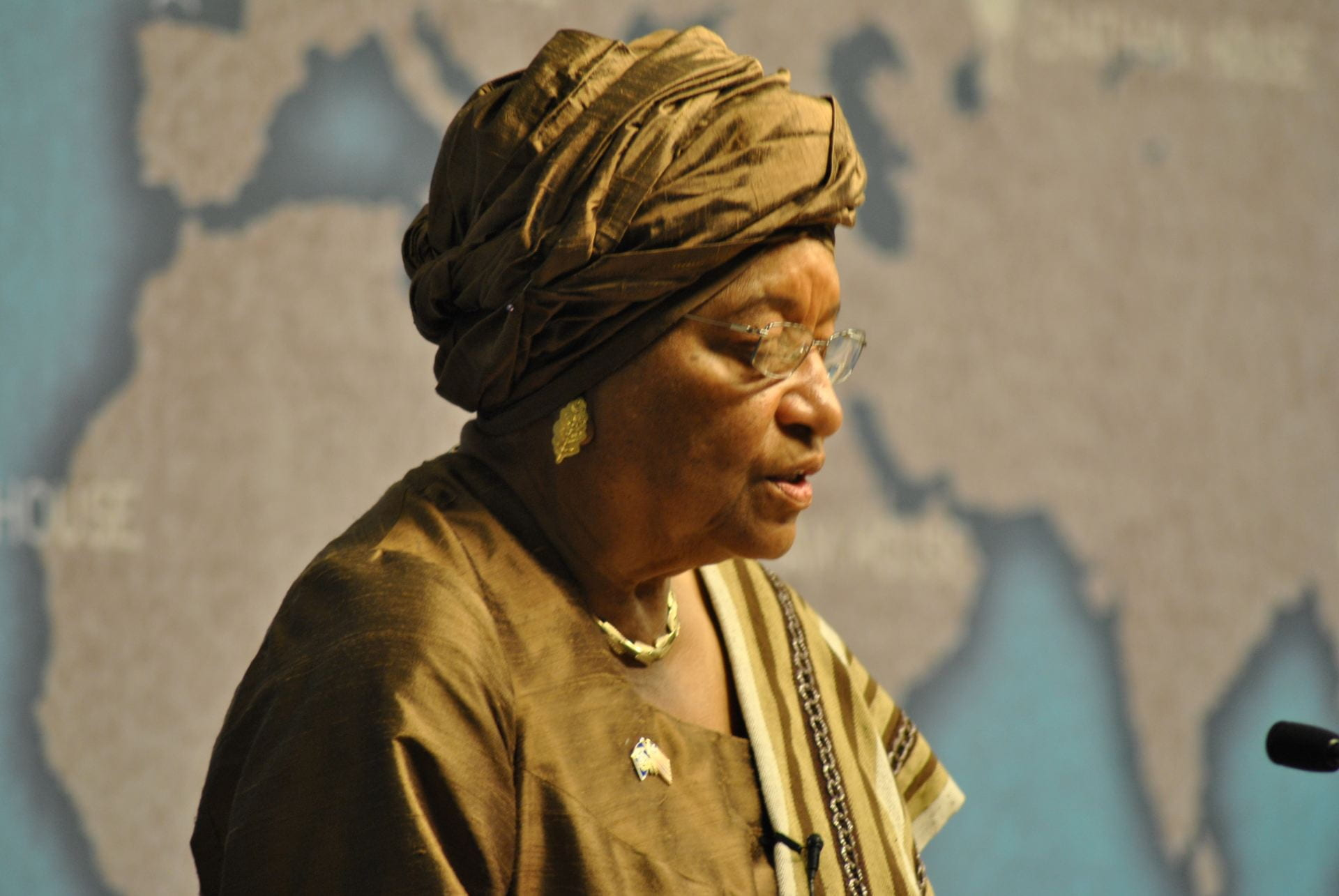 The President of Liberia, HE Ellen Johnson Sirleaf. Source: Chatham House, Creative Commons