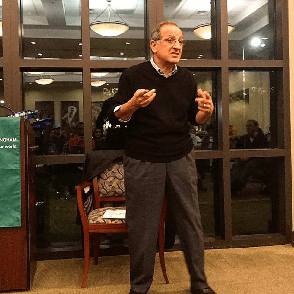 Dr. James Zogby addresses the UAB and Birmingham community.