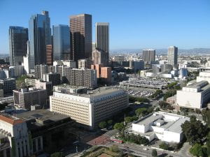 A view of Bunker Hill, Los Angeles