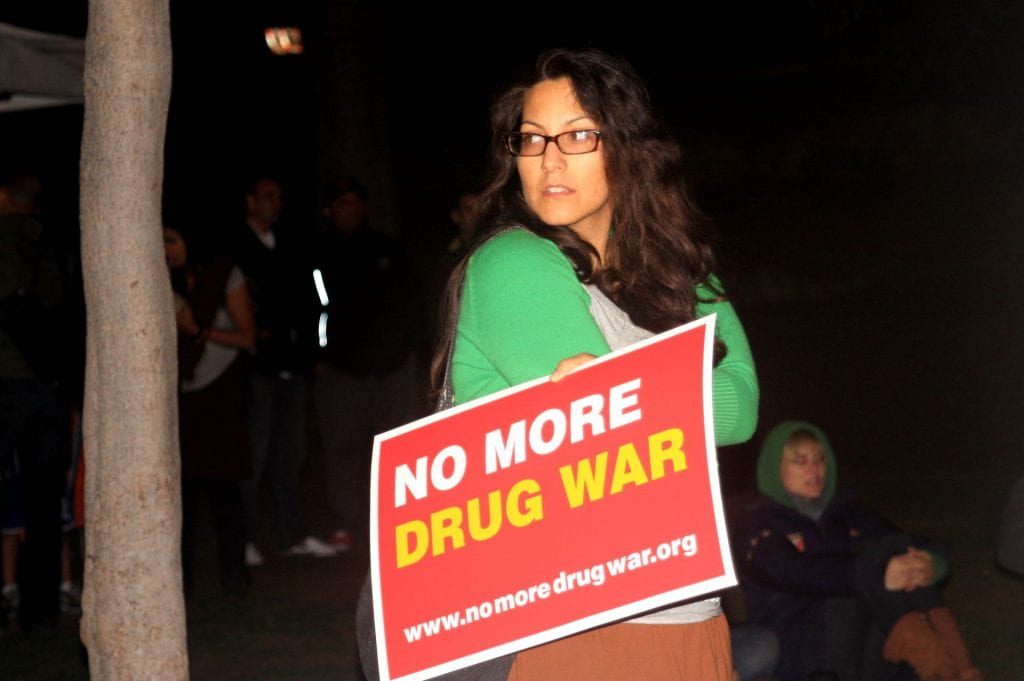 2011 Protest against the War on Drugs