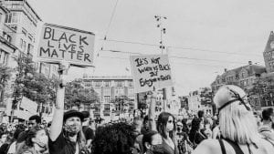 Used to show Black Lives Matter protest