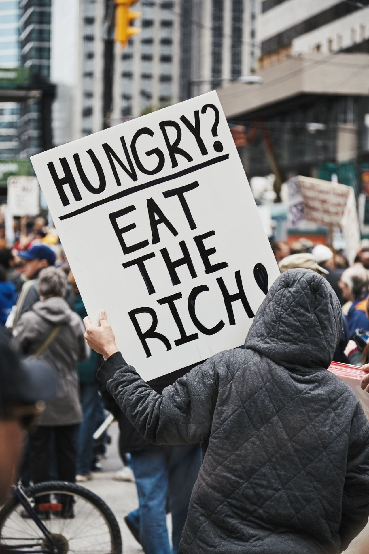 """Eat the Rich!"": A Rallying Cry Against Income Inequality"
