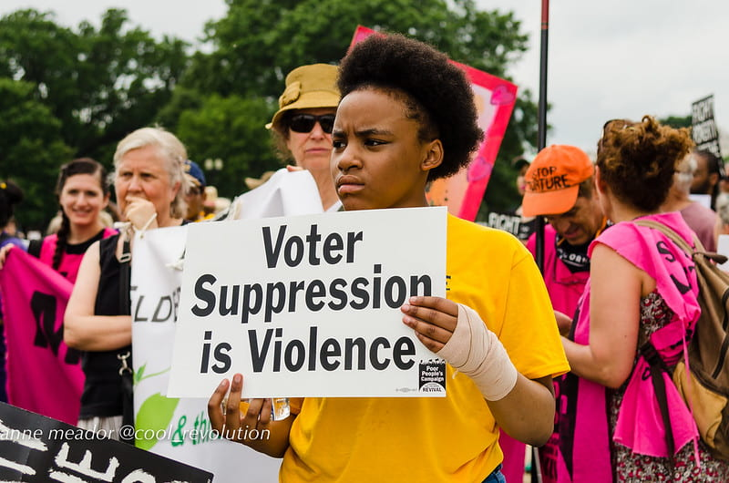 Voter Fraud and Voter Suppression: America's Legacy of Eliminating the Right to Vote