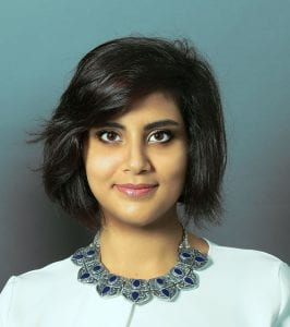 Photo of Loujain al-Hathloul