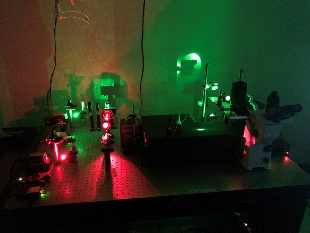 TIRF microscope