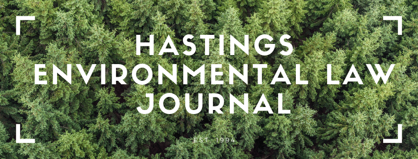 Hastings Environmental Law Journal