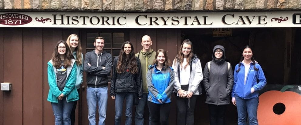 Crystal Cave with Geology Club