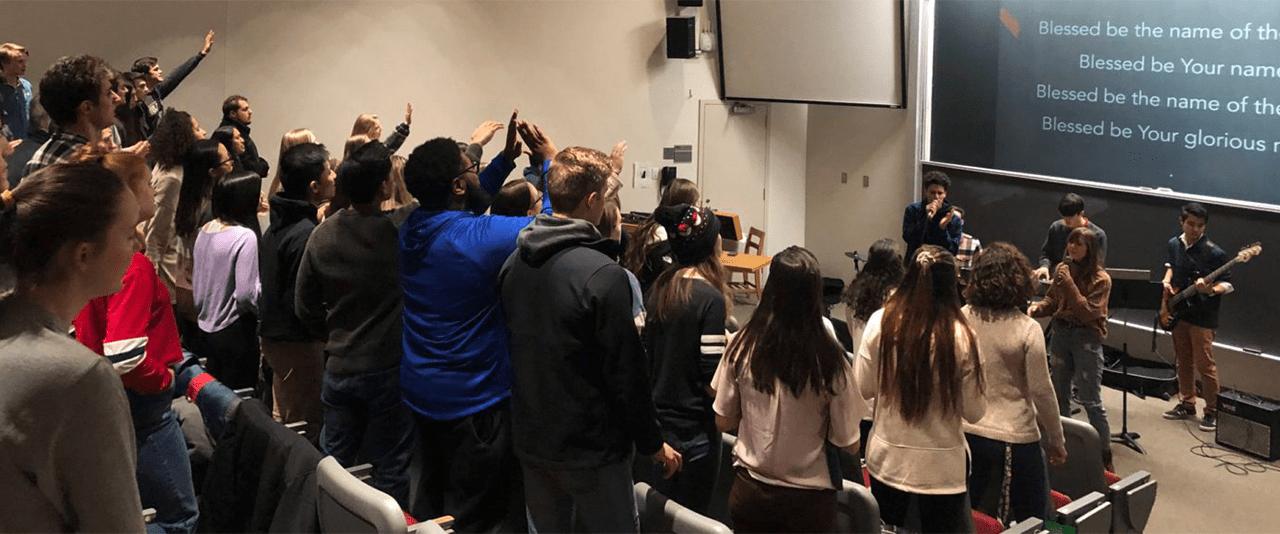 Students of Intervarsity Christian Fellowship