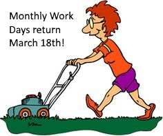 Learn more about our monthly work days!
