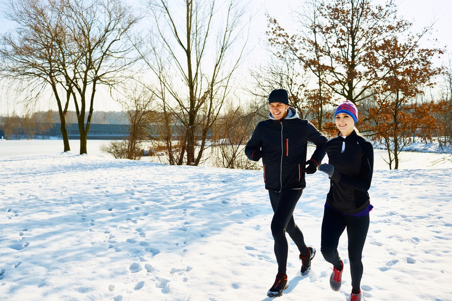 exercising-in-a-winter-wonderland