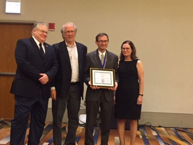 Farquhar Inducted into the National Academy of Kinesiology