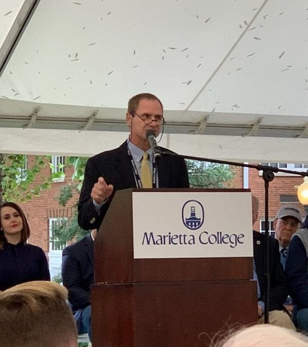 Thomas Kaminski Receives Distinguished Alumnus Award