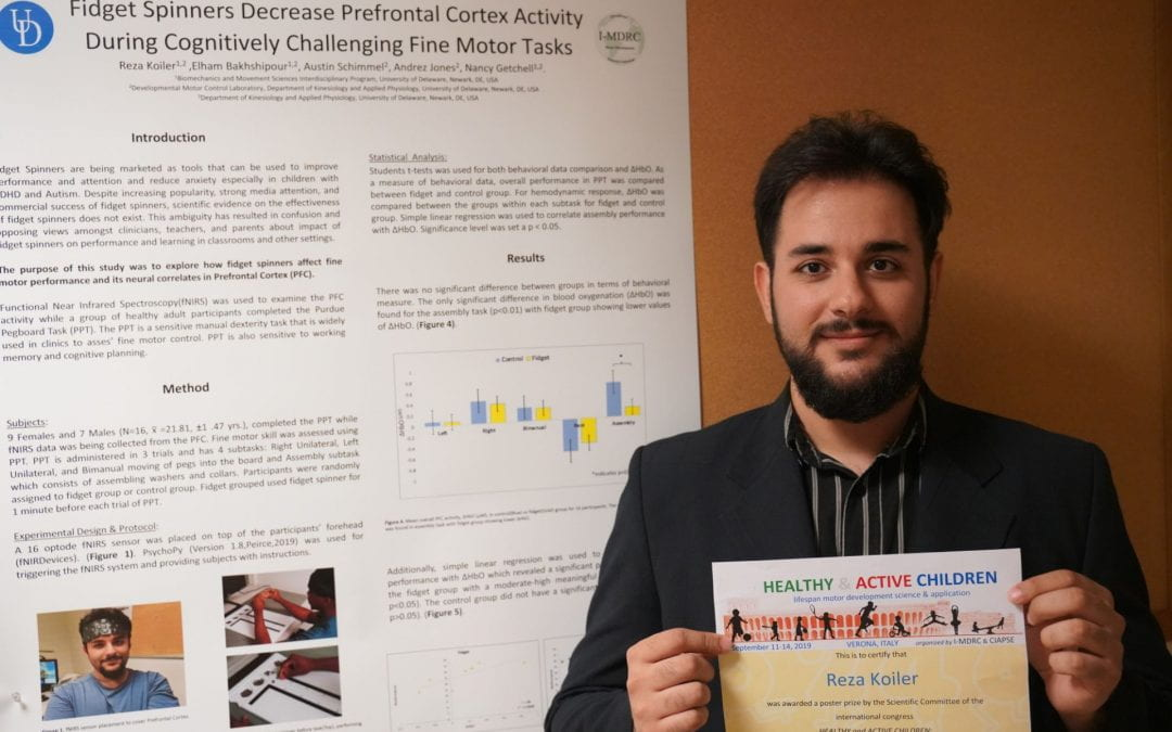 Best Student Poster at the Healthy and Active Children Congress