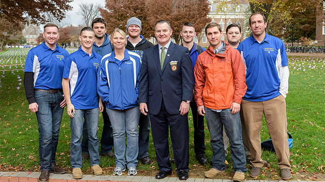 Blue Hen Veterans receives national recognition