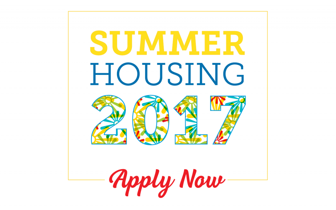 Summer Housing at UD