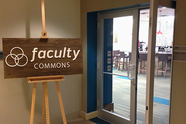 Faculty Commons Welcome