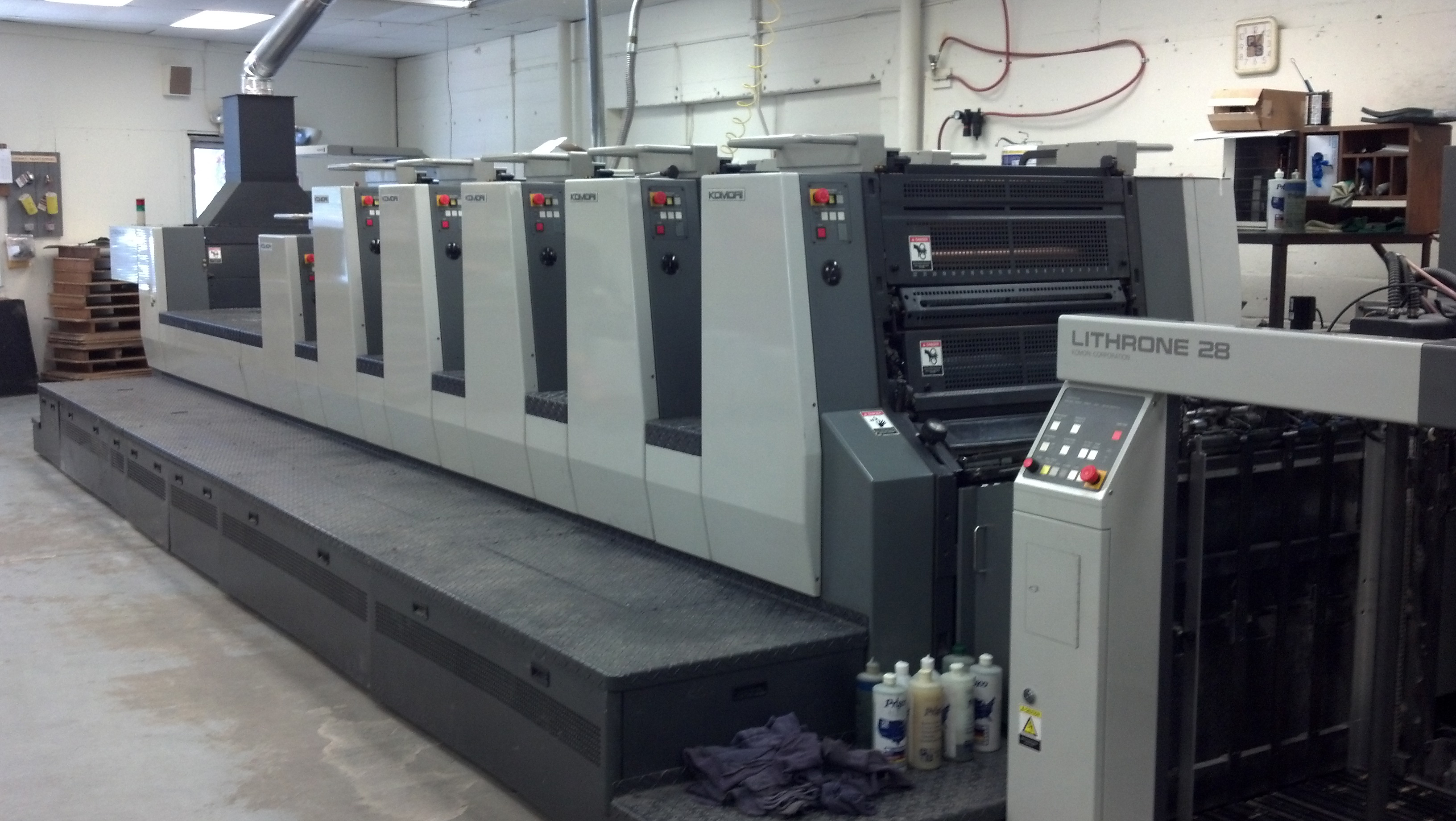 Four Color Offset Printing University Printing