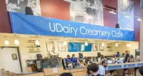 UDairy Cafe opens in bookstore