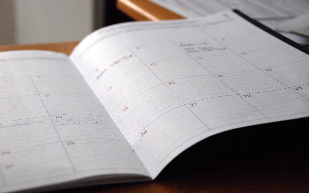 2017 Summer Workshop Schedule