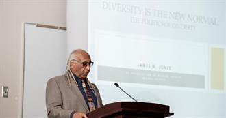 James Jones discusses the challenges of diversity