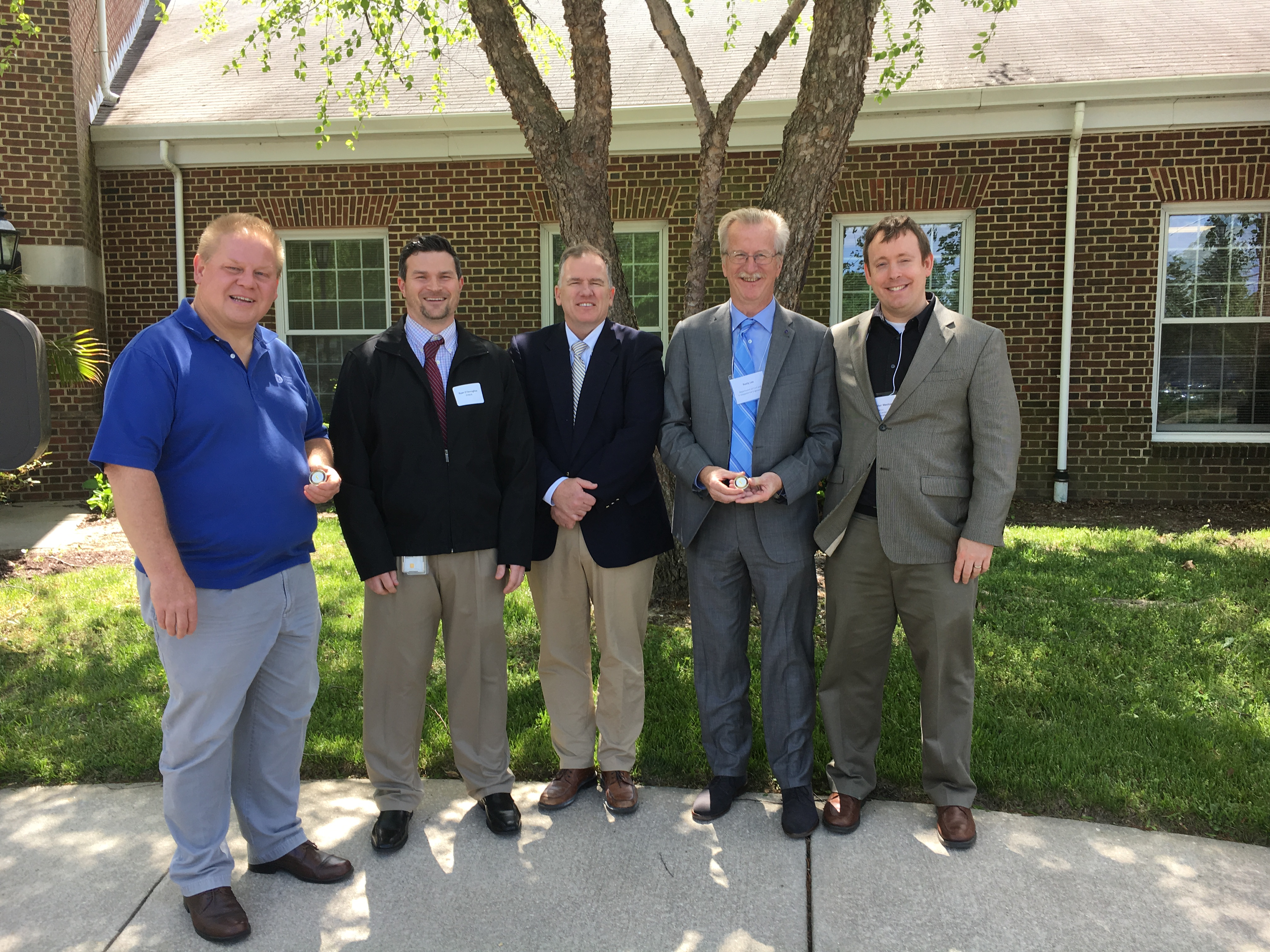 Delaware Center for Transportation Engineers Recognized for Work to Improve Traffic Safety