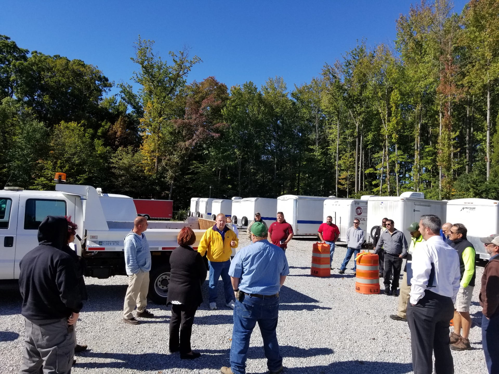 Equipment Visibility Safety Exercise Delaware Center For