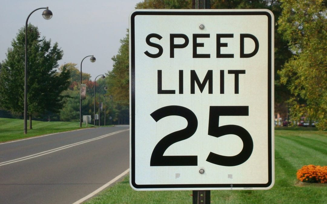 Establishing Speed Limits…The Right Way